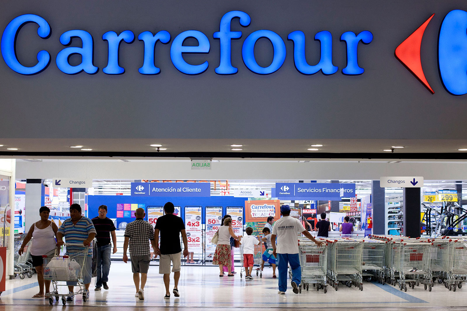 Carrefour Mataderos - Cuzzuol